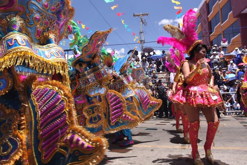 Oruro καρναβάλι στοκ φωτογραφίες