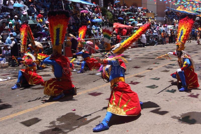 Oruro Carnival stock photography