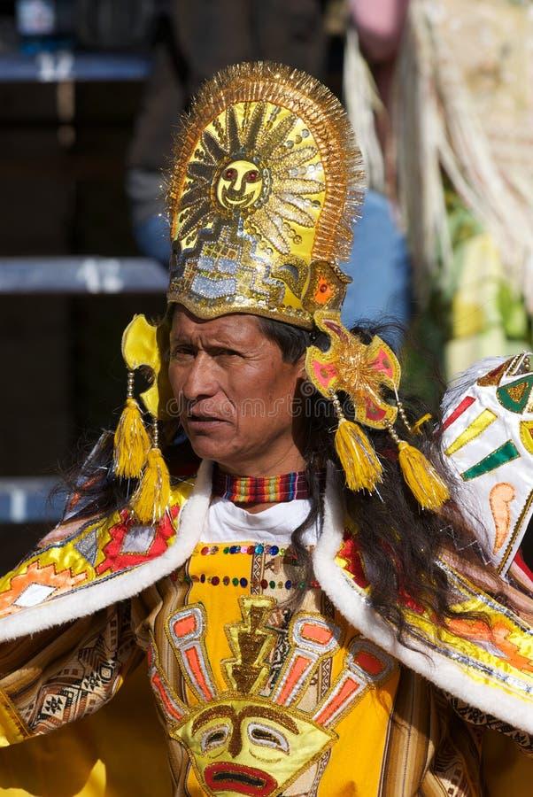 oruro för bolivia karnevaldansare royaltyfri fotografi