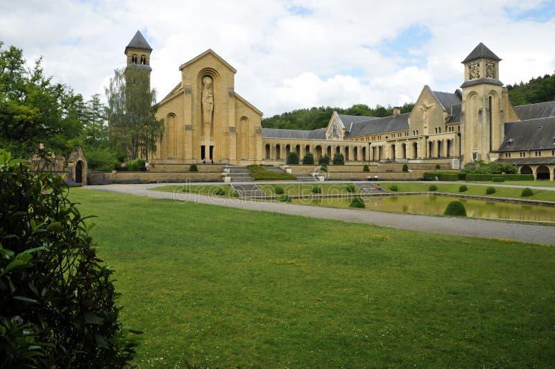 Orval opactwa kościół zdjęcia royalty free