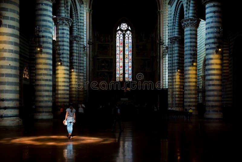Orvieto fotografia stock libera da diritti