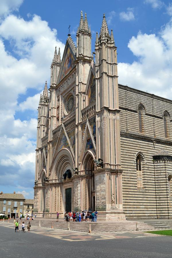 Orvieto Cathedral royalty free stock image
