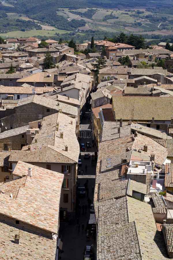 Orvieto Italy stock photo
