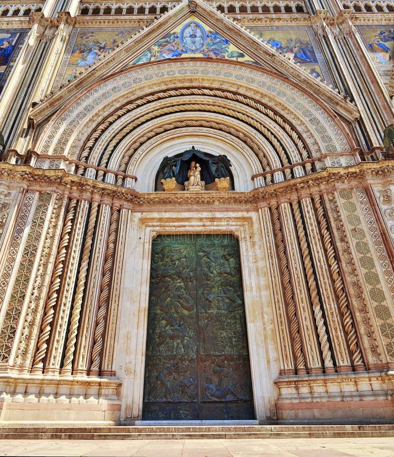Orvieto katedra zdjęcie royalty free