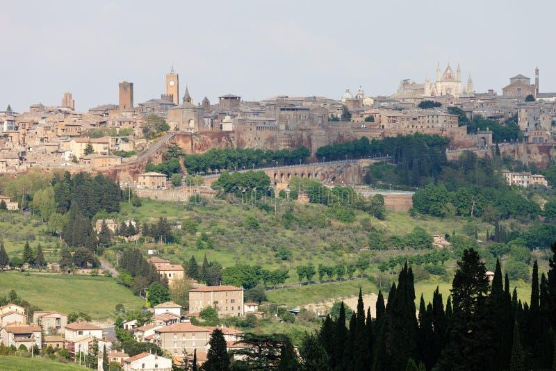 Orvieto - l'Ombrie photo stock