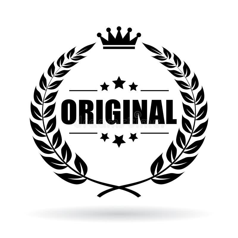 Oryginalna produktu wektoru ikona royalty ilustracja