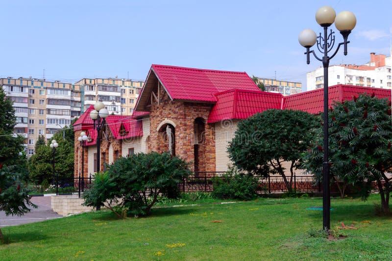 Oryginalny budynek zdjęcie royalty free