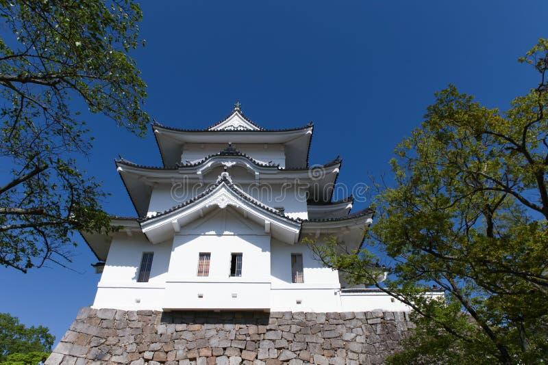 Oryginalny Ninja kasztel Iga Ueno fotografia royalty free