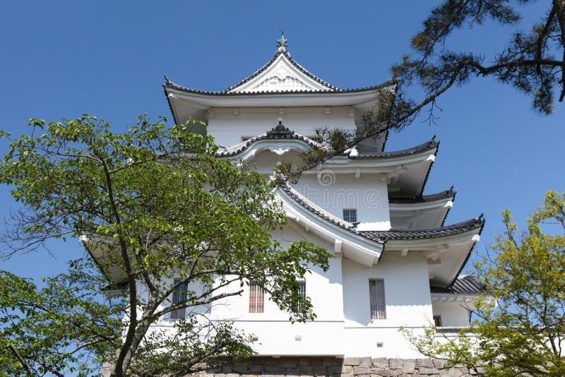 Oryginalny Ninja kasztel Iga Ueno zdjęcia royalty free