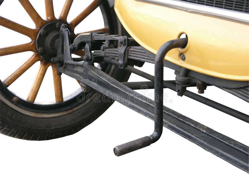 oryginalny silnikowe starter obraz stock