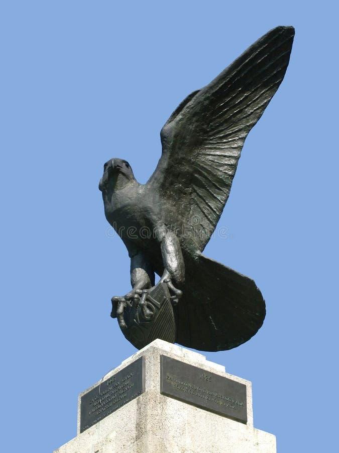 orzeł dumna posąg zdjęcia stock