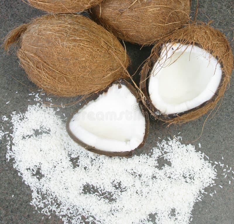 orzechy kokosowe zdjęcie royalty free