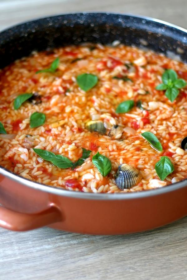 Orzo Pasta stock images