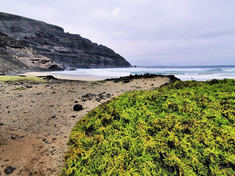 Orzola, Lanzarote imagen de archivo