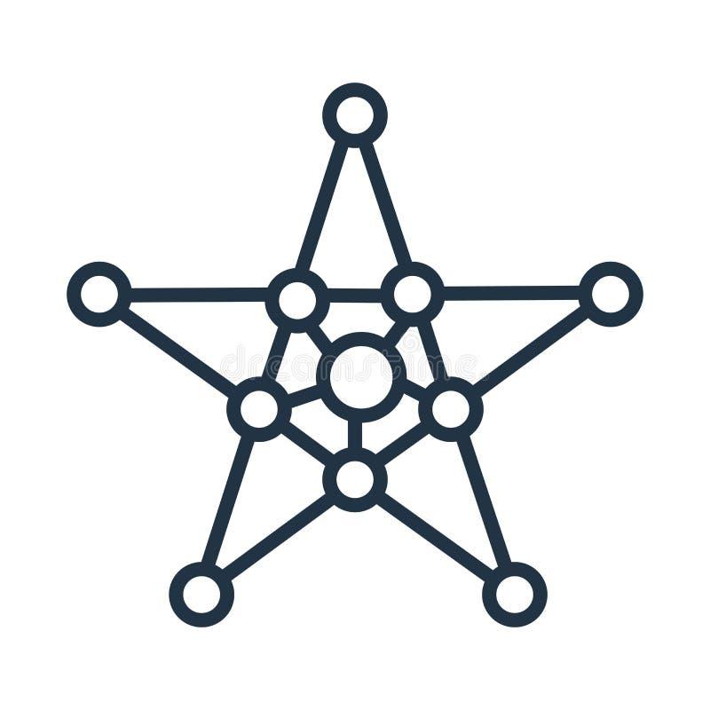 Osłania ikona wektor odizolowywającego na białym tle, osłona znak ilustracja wektor