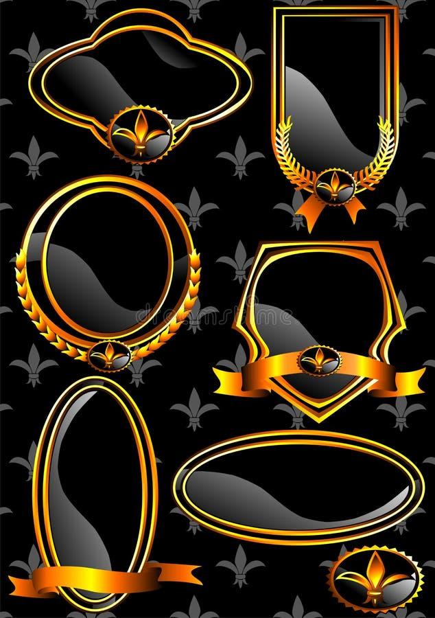 Osłona 03 royalty ilustracja
