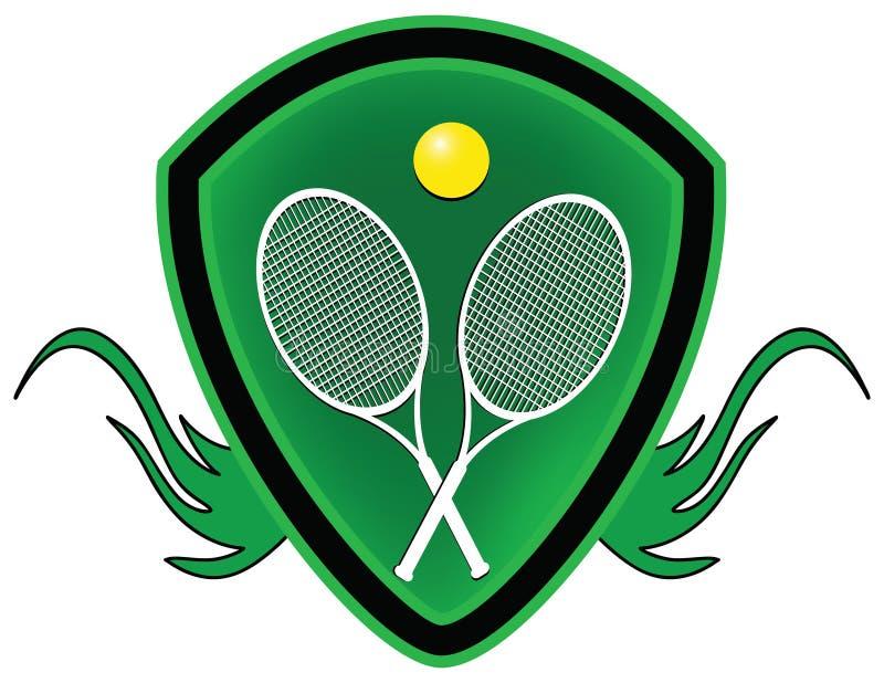 osłona tenis royalty ilustracja