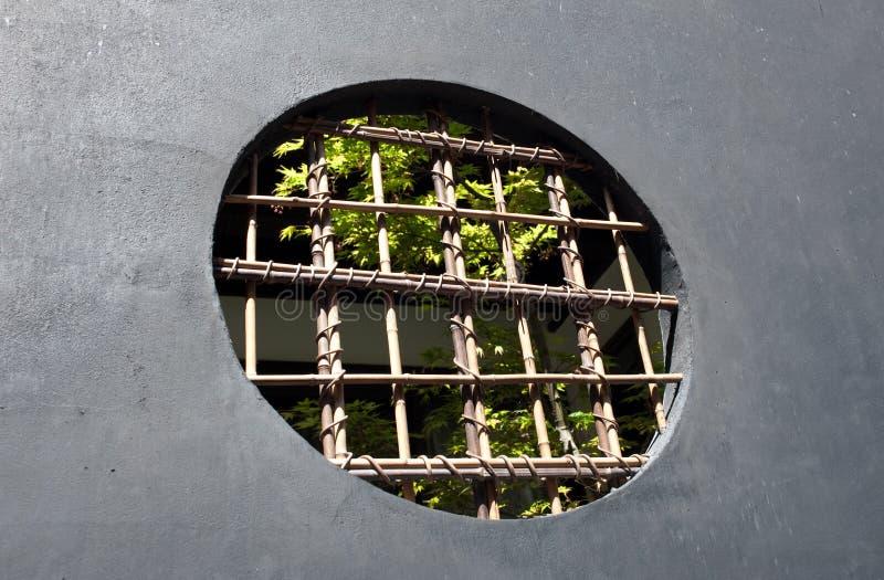 osłonięty okno fotografia stock