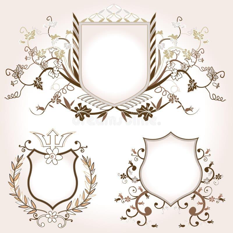 osłony royalty ilustracja