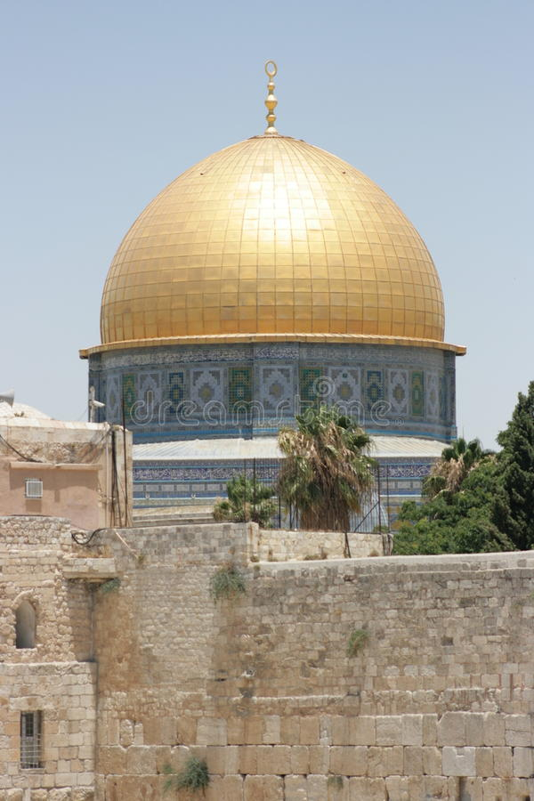 osłony Jerusalem rock sity stary zdjęcie stock