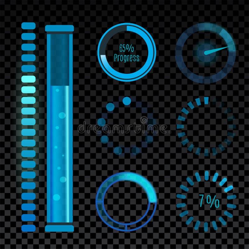 Os ícones do vetor para a relação móvel da carga do Internet da Web do projeto das aplicações transferem o botão dos meios ilustração stock