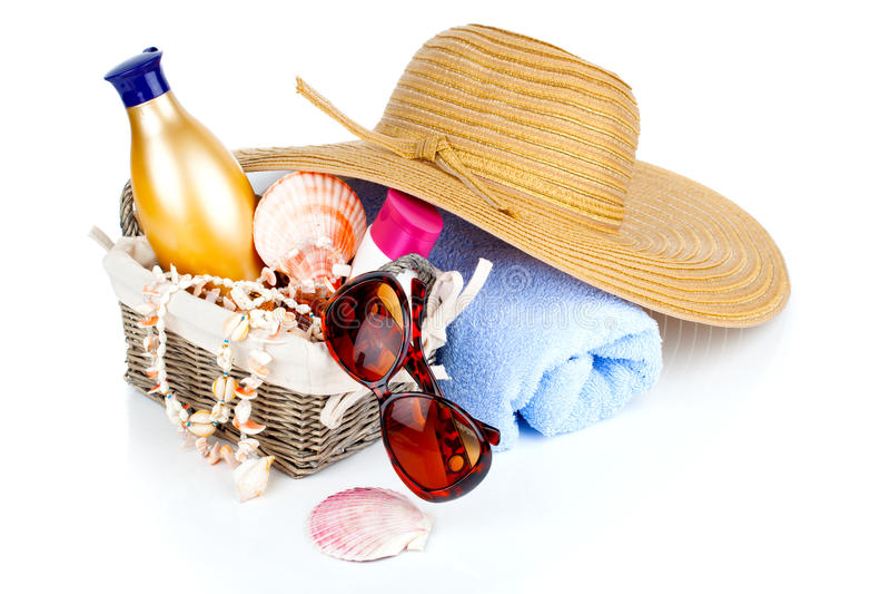 Download Os Acessórios Das Mulheres Para O Abrandamento Exterior Foto de Stock - Imagem de férias, fundo: 29826240