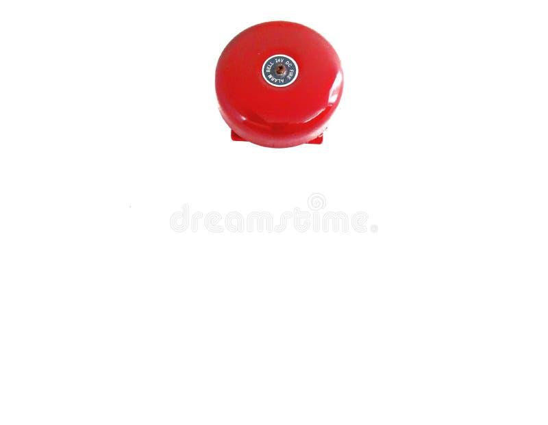 Os alarmes para emergências do fogo ou da emergência são circulares fotografia de stock royalty free