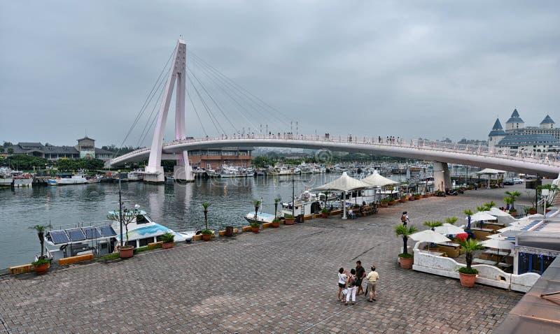 Os amantes constroem uma ponte sobre, Taipei imagens de stock