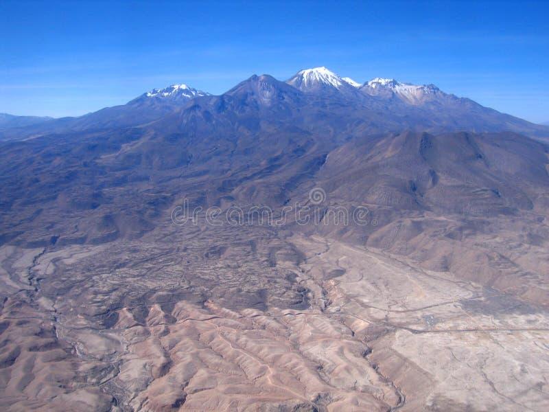 Os Andes imagens de stock