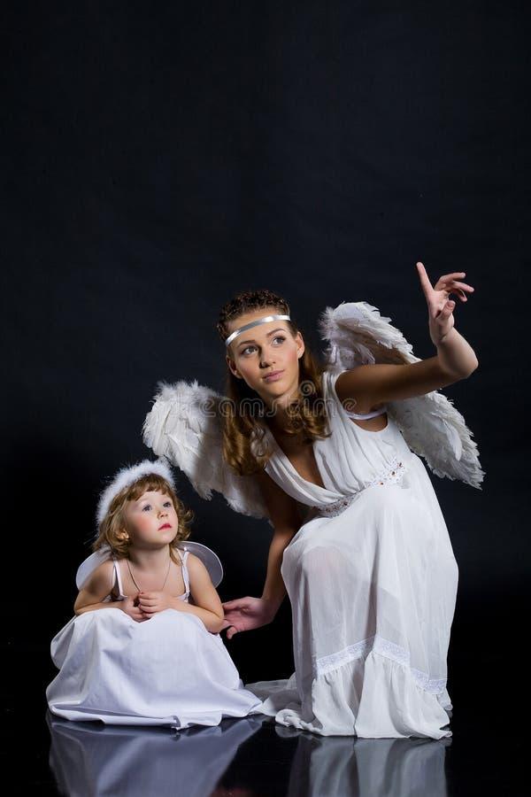 Os anjos fotos de stock royalty free