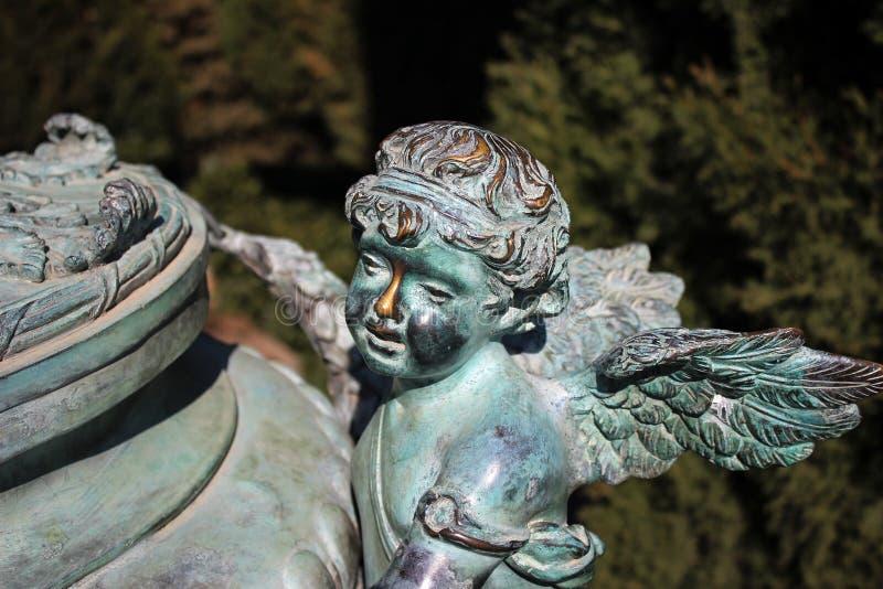 Os anjos vivem não somente no céu imagens de stock royalty free