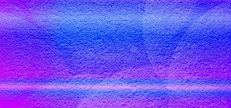 Os azul-céu azuis abstratos coloridos da cor colorem listras que o eclipse refletiu o fundo textured seco ilustração stock