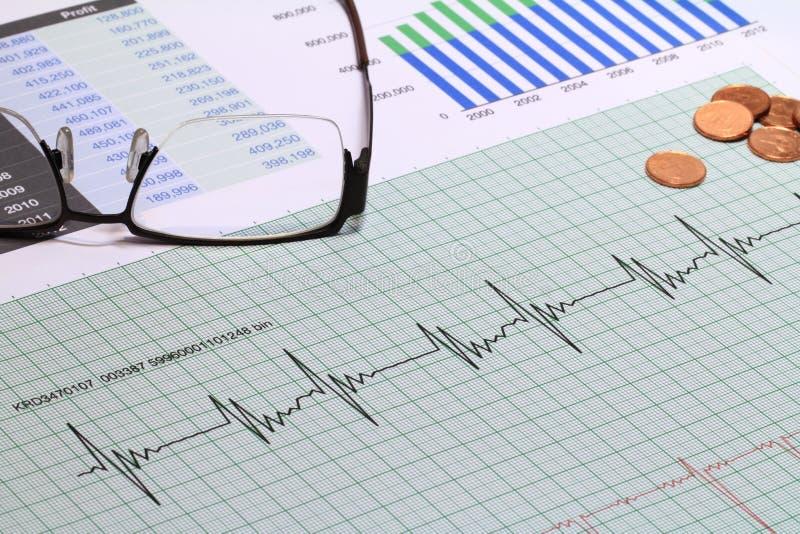 Saúde financeira imagens de stock