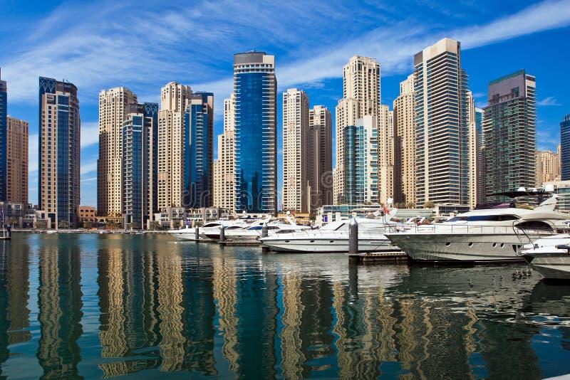 Porto de Dubai, UAE. imagem de stock royalty free