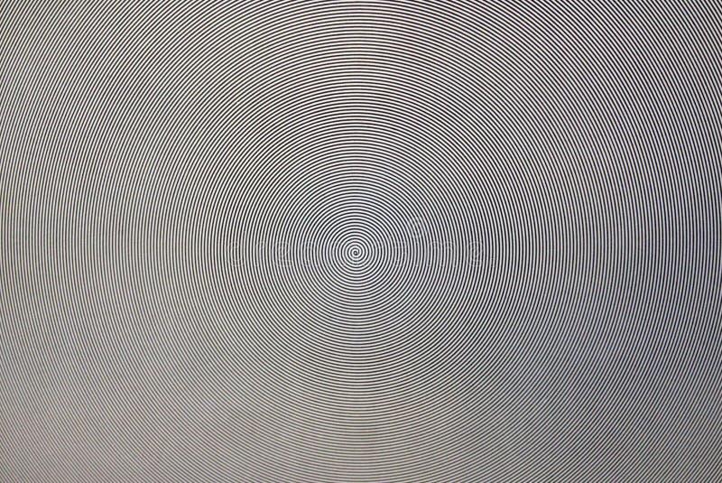 Os círculos preto e branco da variedade foto de stock royalty free