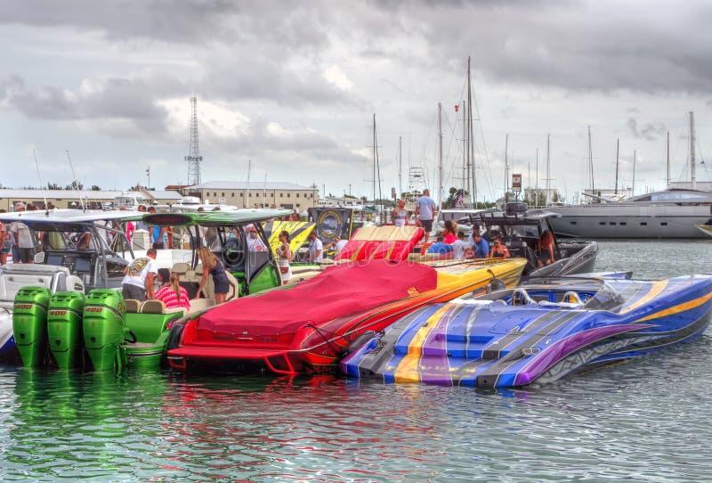 35os campeonatos mundiais anuais de Key West imagem de stock