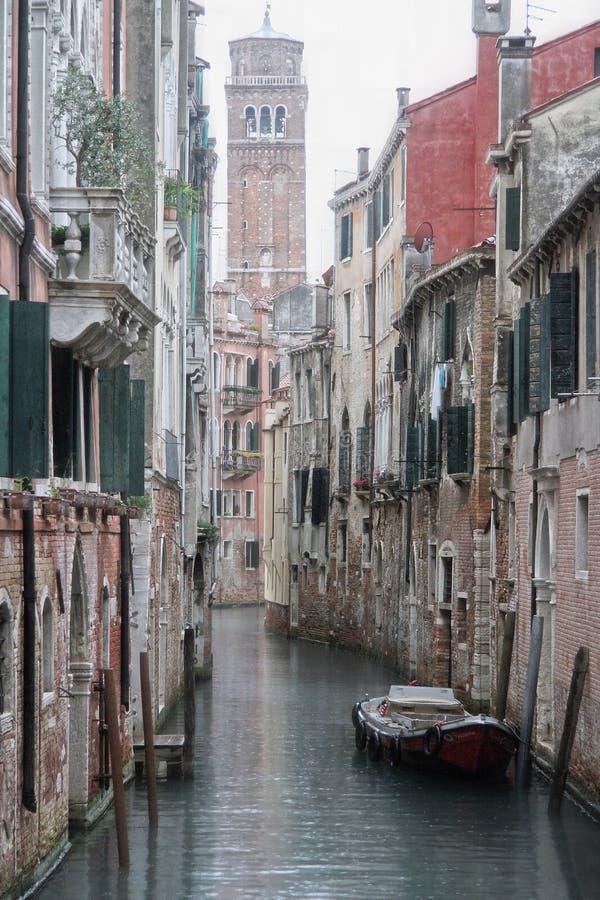 Os Canais De Veneza fotos de stock royalty free