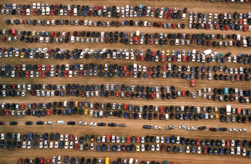 Os carros fotografia de stock