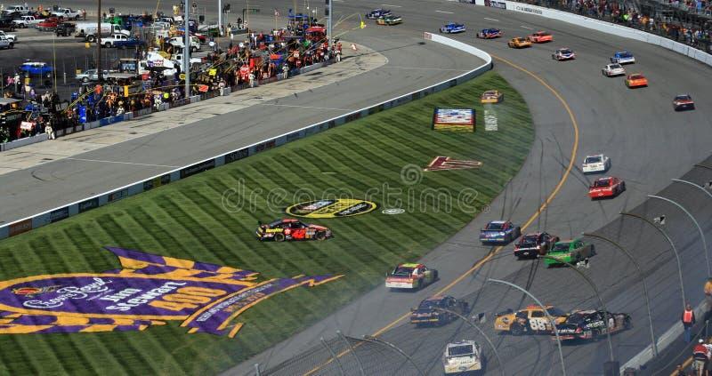 Os carros empilham acima em Richmond foto de stock royalty free