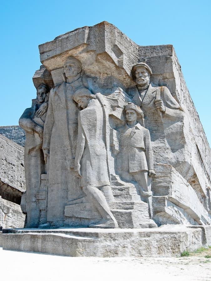 Os Catacombs De Adzhimushkay Fotografia de Stock Royalty Free