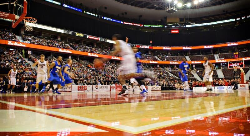 Finais do basquetebol do CIS dos homens fotos de stock