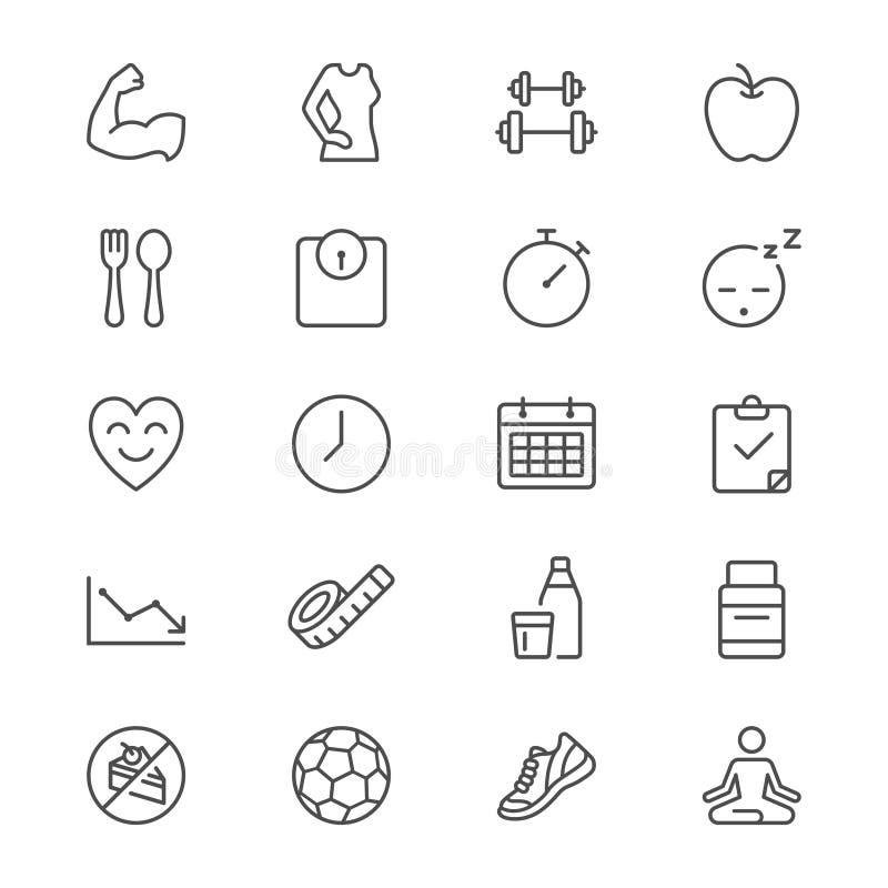 Os cuidados médicos diluem ícones
