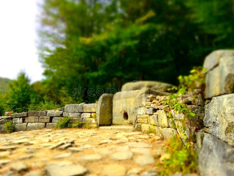 Os dólmens do Cáucaso imagem de stock