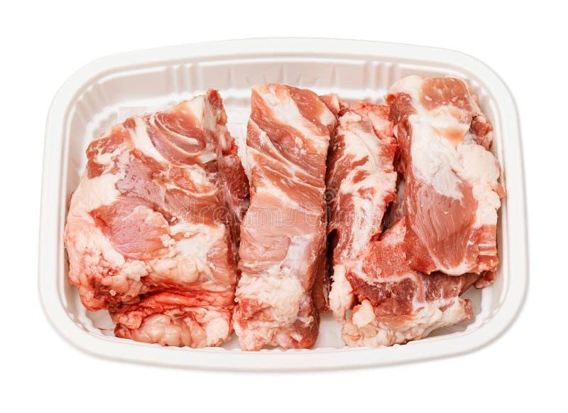 Os d'épine de porc pour la soupe photo libre de droits