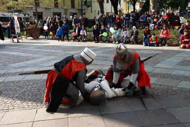 Os 11 /15 de abril de 2019 - 400th edição 'do delle Palme 'Melzo Itália de Fiera fotos de stock