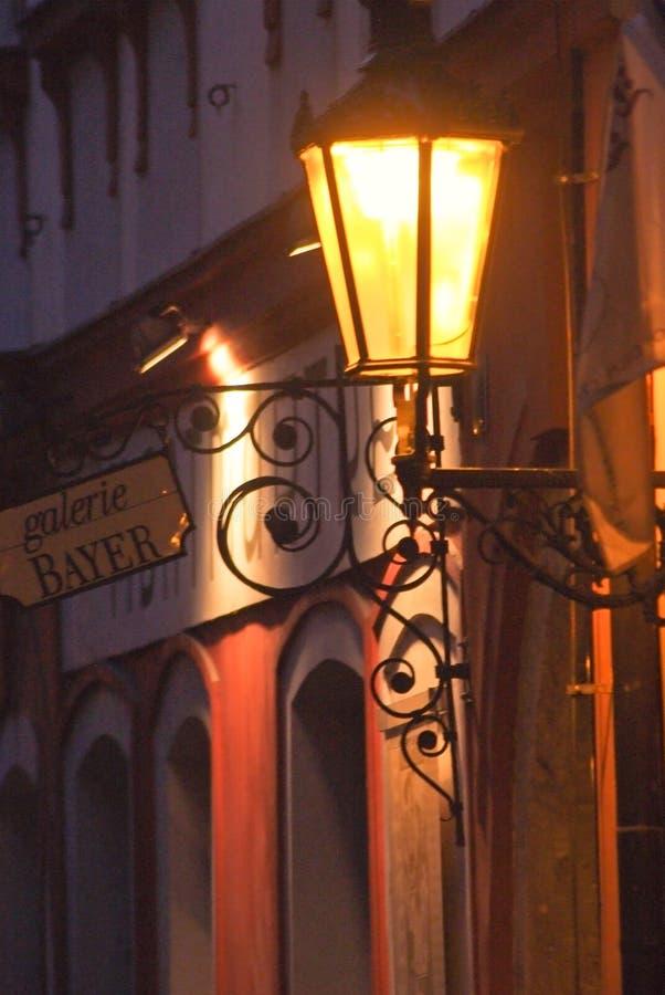 Os detalhes da decoração da rua Praga, Checo Repub fotografia de stock royalty free
