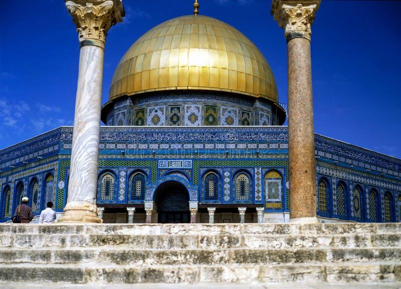 Os DOM da rocha, Jerusalém imagem de stock royalty free