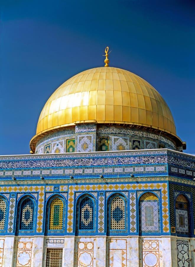 Os DOM da rocha, Jerusalém fotos de stock