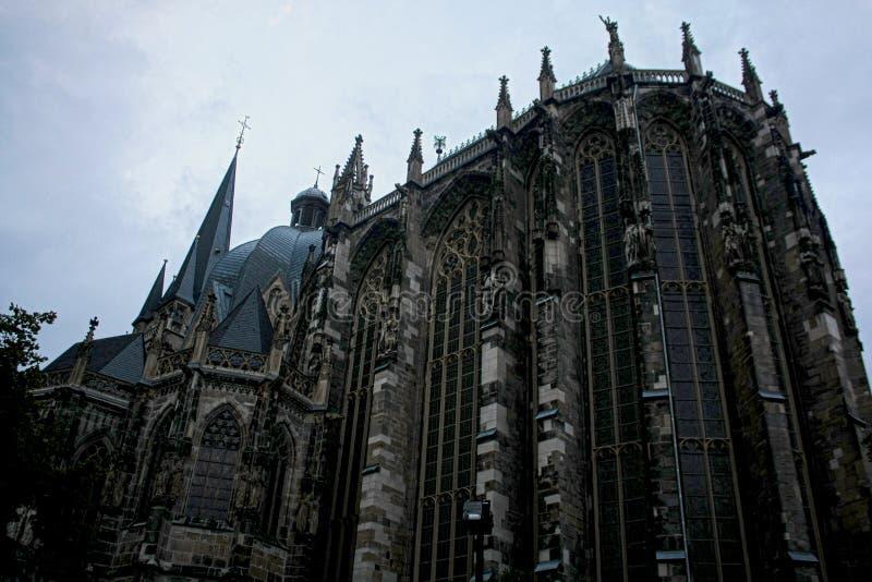 Os DOM de Aachener imagens de stock