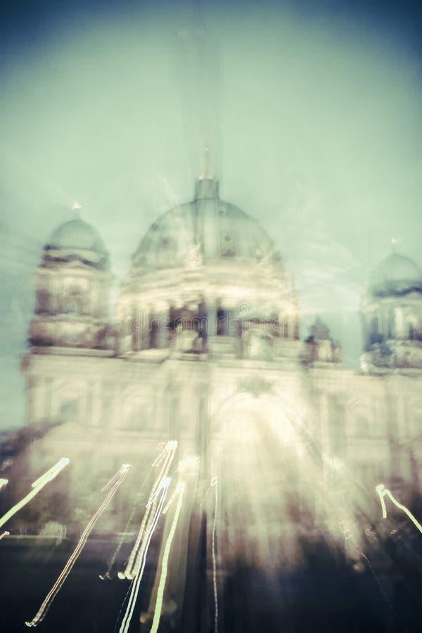 Os DOM de Berlim foto de stock
